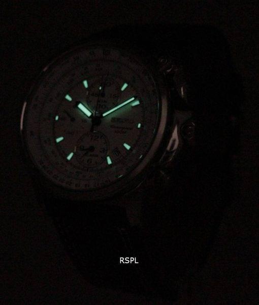 Seiko FLIGHTMASTER Pilot Chronograph SNAB71P1 SNAB71P SNAB71 Mens Watch