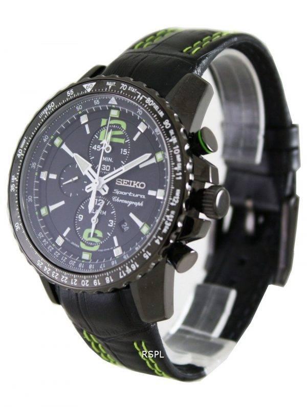Seiko Mens Sportura Chronograph SNAE97P1 SNAE97P SNAE97 Watch