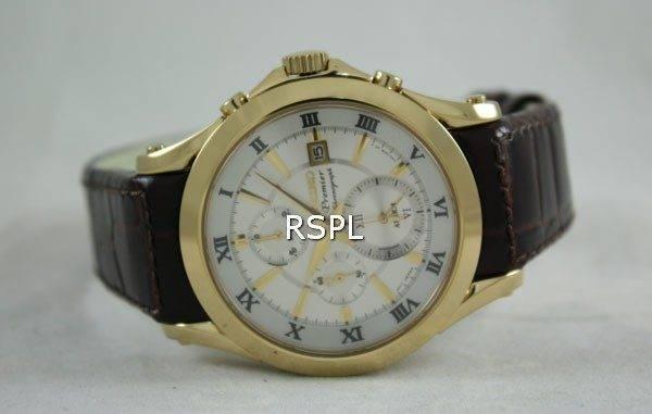 Seiko Premier Chronograph SNAF22P1 SNAF22P SNAF22 Mens Watch