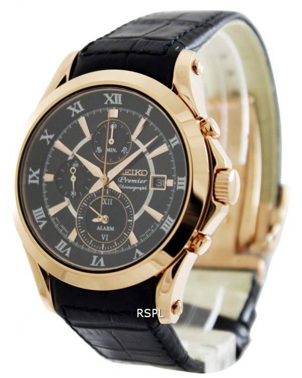 Seiko chronographe alarme Premier SNAF24P1 SNAF24P