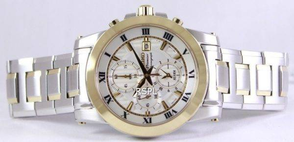 Seiko Premier Chronograph Alarm SNAF32P1 SNAF32P Men's Watch