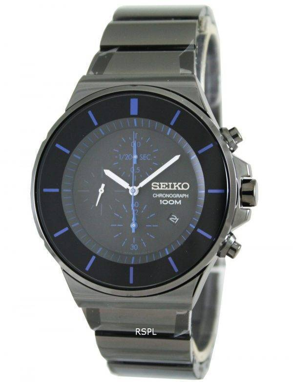 Seiko Quartz Chronograph SNDD59P1 SNDD59 SNDD59P Mens Watch