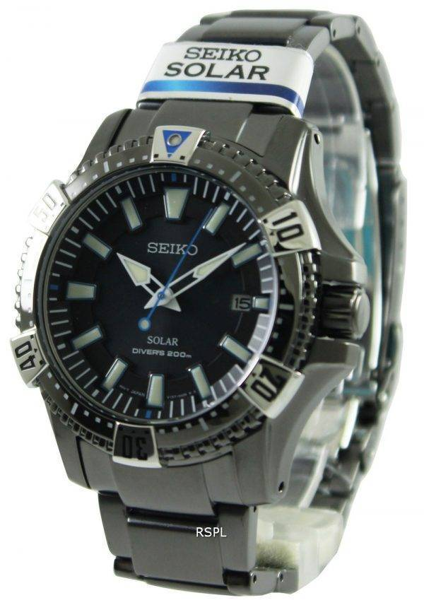 Seiko Solar Divers SNE281P1 SNE281P SNE281 Mens Watch