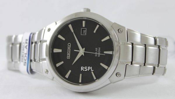 Seiko Solar SNE341P1 SNE341P SNE341 Mens Watch
