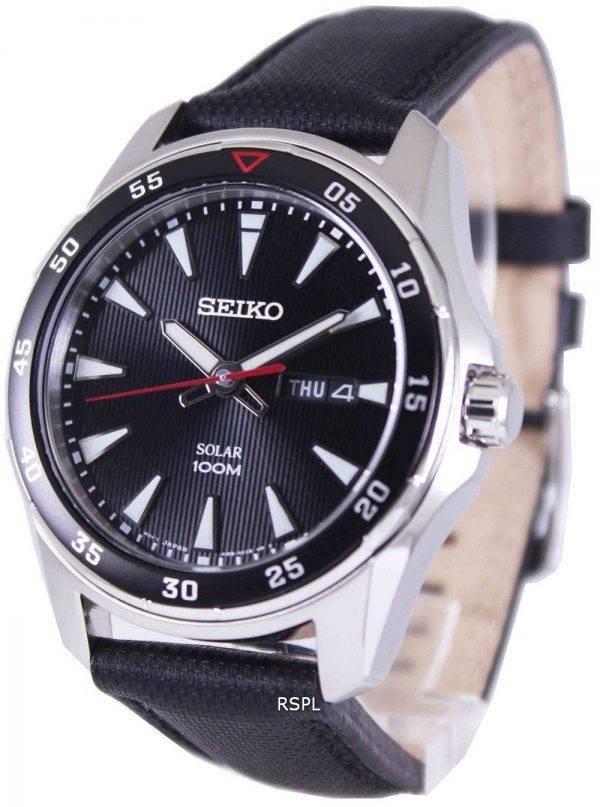 Seiko Solar 100M SNE393P2 Mens Watch