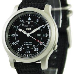 Seiko 5 militaire automatique Nylon Mens watch SNK809 SNK809K2