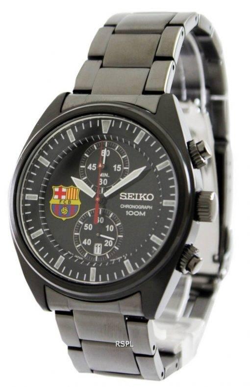 Seiko Chronograph FC Barcelona SNN267P1 SNN267P SNN267 Mens Watch