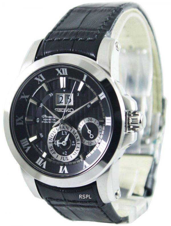 Seiko Premier Kinetic Perpetual SNP093P2 Mens Watch