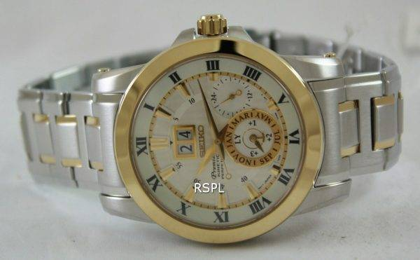 Seiko Premier Kinetic Perpetual SNP094P1 SNP094P SNP094 Mens Watch