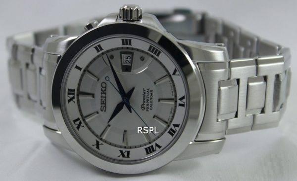 Seiko Premier Perpetual Calendar SNQ139P1 SNQ139P Mens Watch
