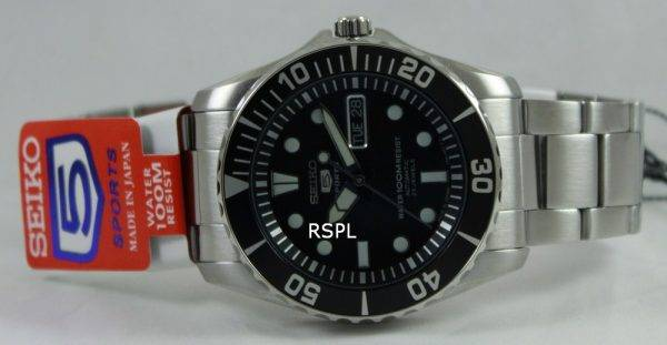 Seiko Automatic Divers 23 Jewels 100m Made in Japan SNZF17J1 SNZF17J SNZF17 Mens Watch