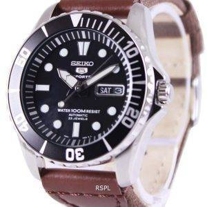Seiko 5 Sports automatique toile sangle SNZF17K1-NS1 hommes