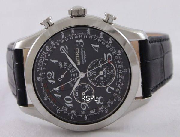 Seiko chronographe perpétuel SPC133P1 SPC133P SPC133