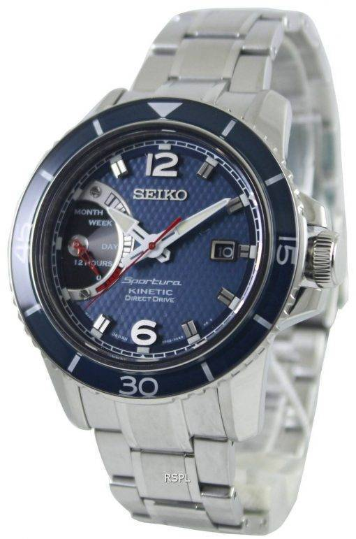 Seiko Sportura Kinetic Direct Drive SRG017P1 SRG017P Mens Watch