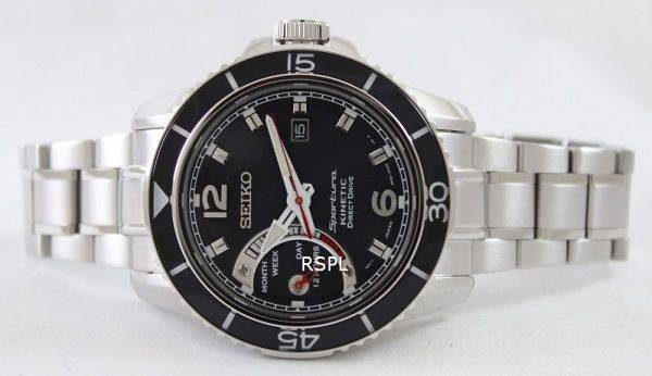 Seiko Sportura Kinetic Direct Drive SRG019P1 SRG019P SRG019 Mens Watch