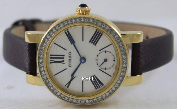 Seiko Quartz Swarovski Crystals SRK030P1 SRK030P Womens Watch