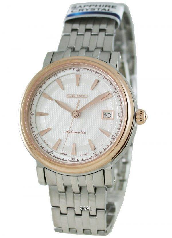 Seiko automatique Japon saphir de bobinage artisanal Presage SRP118J1 Mens Watch
