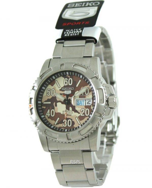 Seiko 5 Sports Automatic Divers SRP221K1 SRP221K SRP221 Mens Watch