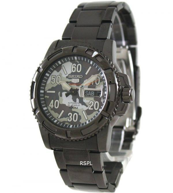 Seiko 5 Sports automatique SRP225K1 plongeurs Mens Watch