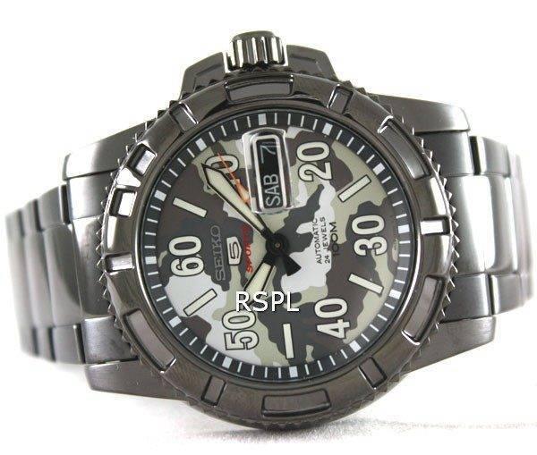 Seiko 5 Sports automatique SRP225K1 plongeurs Mens Watch