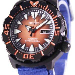 Montre 200M NATO bracelet SRP311K1-NATO6 masculin Seiko 5 Sports automatique Diver