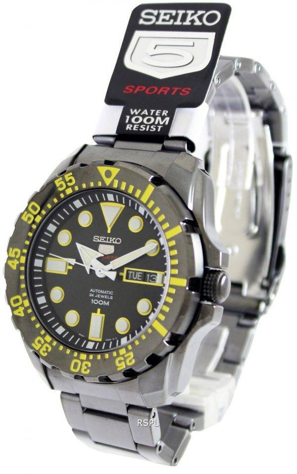 Seiko 5 Sports Automatic SRP607K1 SRP607K Mens Watch