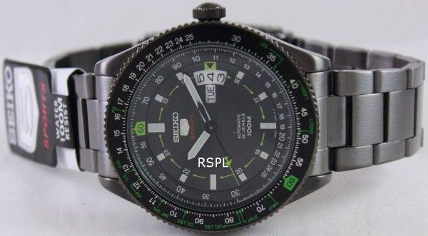 Seiko 5 Sports Automatic Pilot SRP617K1 SRP617K Mens Watch