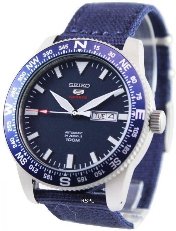 Seiko 5 Sports automatique 24 bijoux 100M SRP665K1 SRP665K hommes