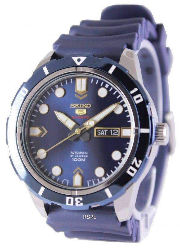 Seiko 5 Sports Automatic 24 Jewels 100M SRP677K2 Mens Watch