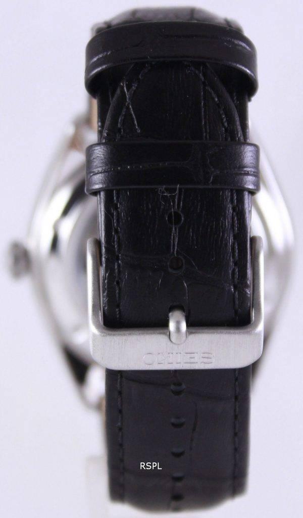 Montre Seiko automatique hommes cadran noir 100M SRP715K1 SRP715K