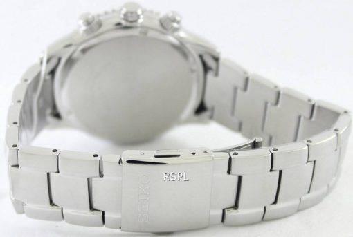 Montre Seiko chronographe Quartz 100M SRW033P1 SRW033P hommes