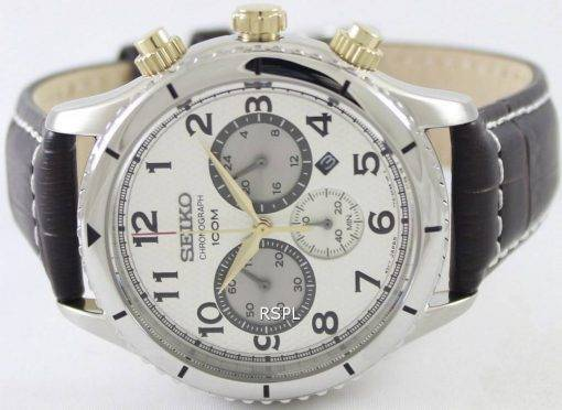 Seiko Chronograph Quartz 100M SRW039P1 SRW039P Mens Watch