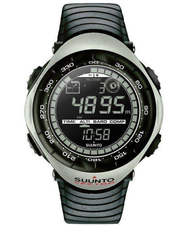Suunto Vector Khaki Digital Outdoor Sport SS010600210 Watch