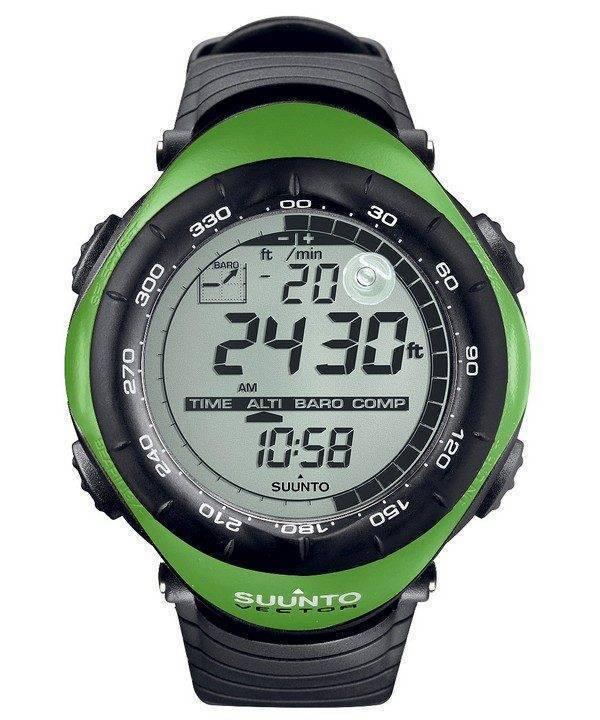 Suunto Vector Lime Green Digital Outdoor Sport SS010600M10 Watch