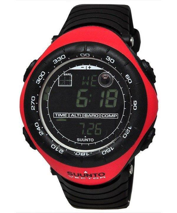 Suunto Vector Sport extérieur rouge SS011516400 Watch