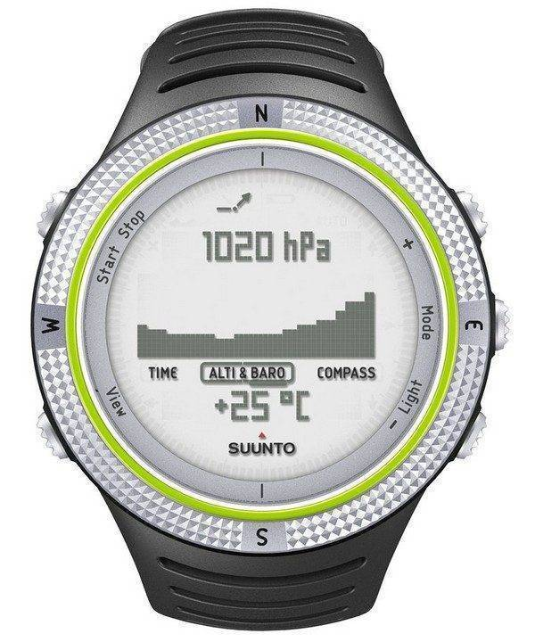 Suunto Core lumière verte SS013318010 de Digital Watch