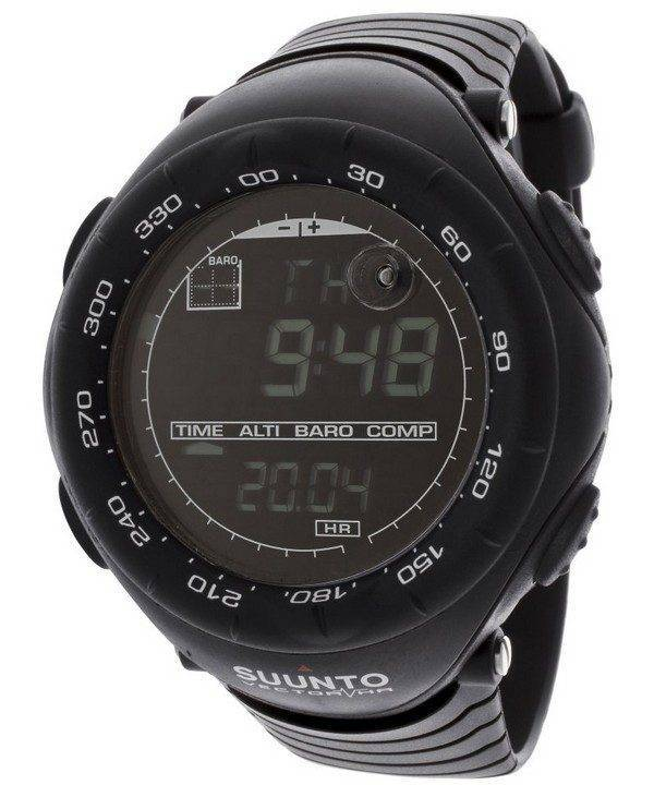 Suunto Vector HR noir SS015301000 Digital Watch