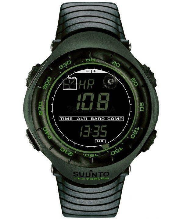 Suunto Vector HR SS018730000 de Digital vert foncé Watch