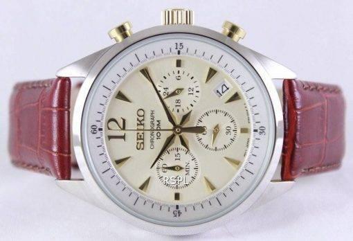Seiko Chronograph Quartz 100M SSB069P1 SSB069P Mens Watch