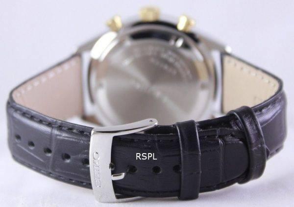 Seiko Chronograph Quartz 100M SSB071P1 SSB071P Mens Watch