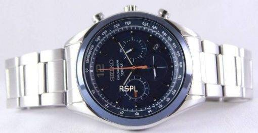 Seiko Chronograph Quartz 100M SSB091P1 SSB091P Mens Watch