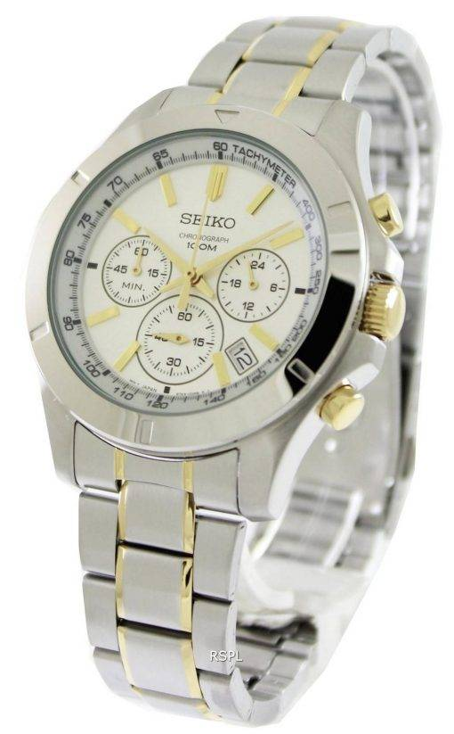 Seiko Chronograph SSB107P1 SSB107P SSB107 Mens Watch