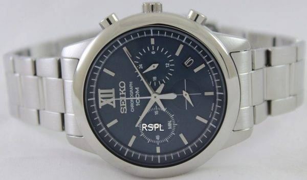 Seiko Chronograph SSB137P1 SSB137P Mens Watch