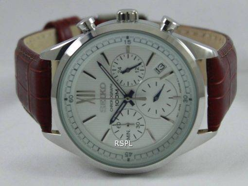 Seiko Chronograph 100M SSB157P1 SSB157P Mens Watch