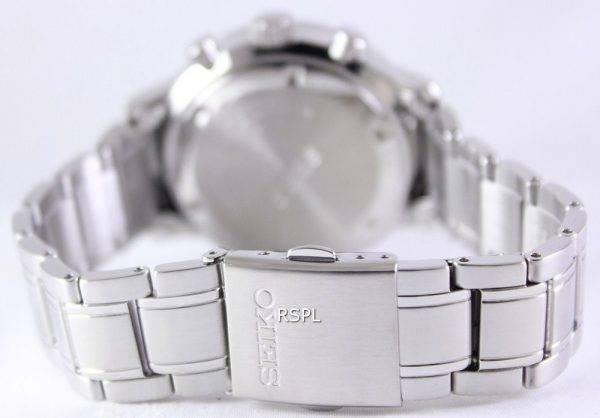 Seiko Chronograph Quartz Tachymeter SSB161P1 SSB161P Men's Watch