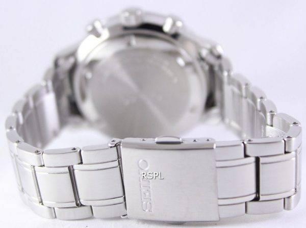 Seiko Chronograph Quartz Tachymeter SSB165P1 SSB165P Men's Watch