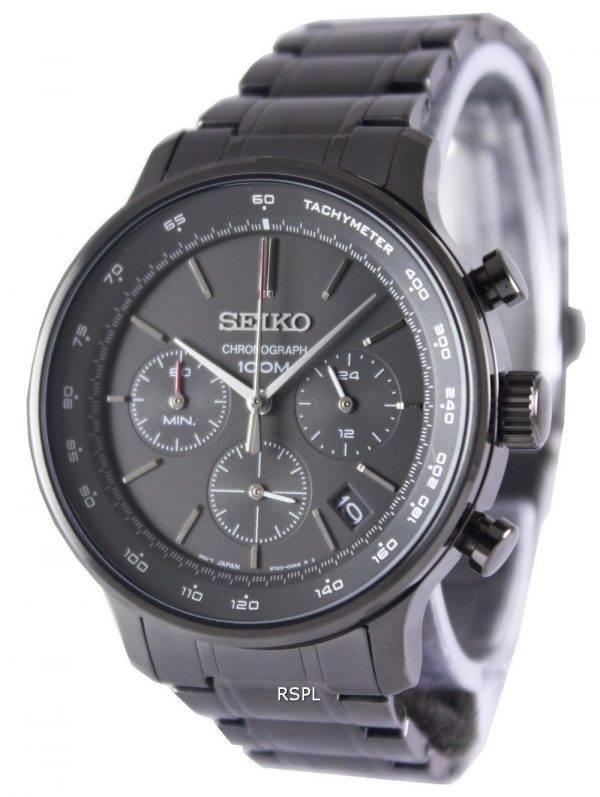 Seiko Chronograph Quartz Tachymeter SSB167P1 SSB167P Men's Watch