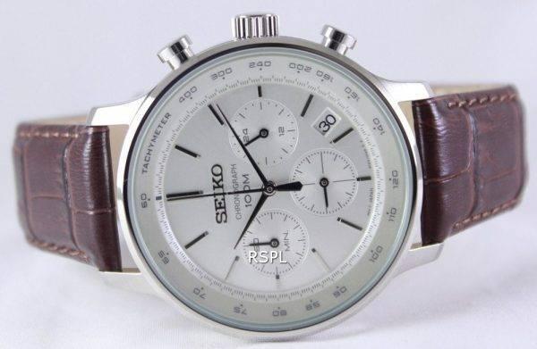 Seiko Chronograph Quartz Tachymeter SSB169P1 SSB169P Men's Watch