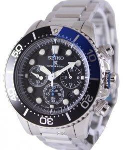 Seiko Chronographe solaire Divers SSC017P1 SSC017P SSC017 montre hommes