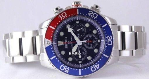 Seiko Chronographe solaire Divers SSC019P1 SSC019P SSC019 montre hommes